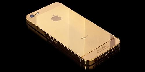 عرضه آی فون جدید با طلای 24 عیار