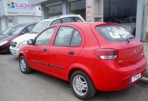 قیمت ماشین تیبا ۲