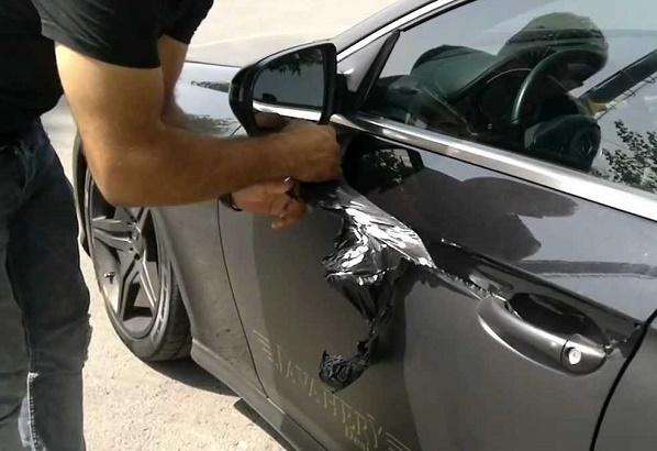 از بین بردن رنگ خودرو