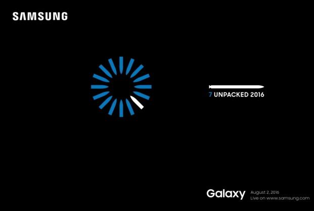 زمان دقیق رونمایی از Galaxy Note 7 مشخص شد