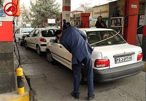 هوافروشی در پمپ بنزینها