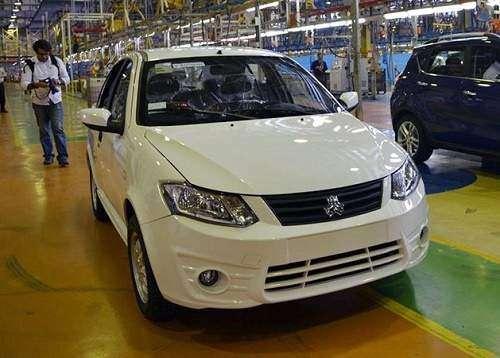 شرایط فروش نقدی و اقساطی خودروی ساینا EX - دی 95