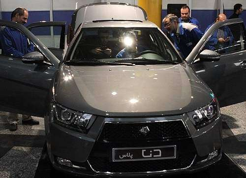 دنای جدید ایران خودرو چند ستاره ایمنی دارد؟