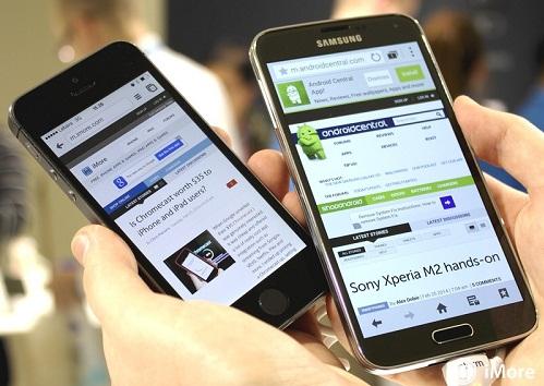 8 دلیل برتری Galaxy S5 بر iPhone 5S