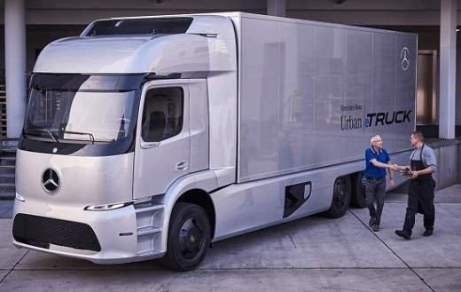کامیون برقی مرسدس بنز به بازار می آید